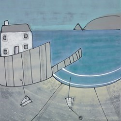 Out to Sea by Charlotte Turner -  sized 36x36 inches. Available from Whitewall Galleries